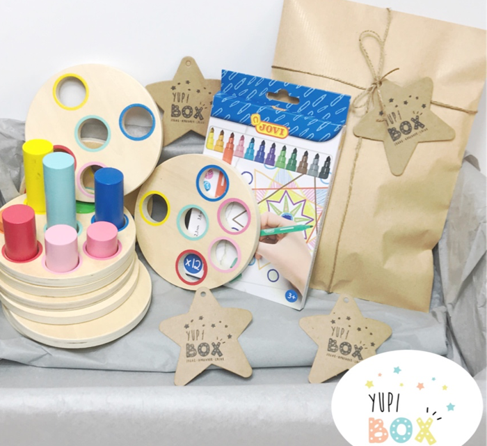 YupiBox, las cajas más divertidas con juguetes Montessori