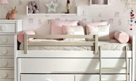 Dormitorios juveniles que aprovechan el espacio de la mano de Garabatos.
