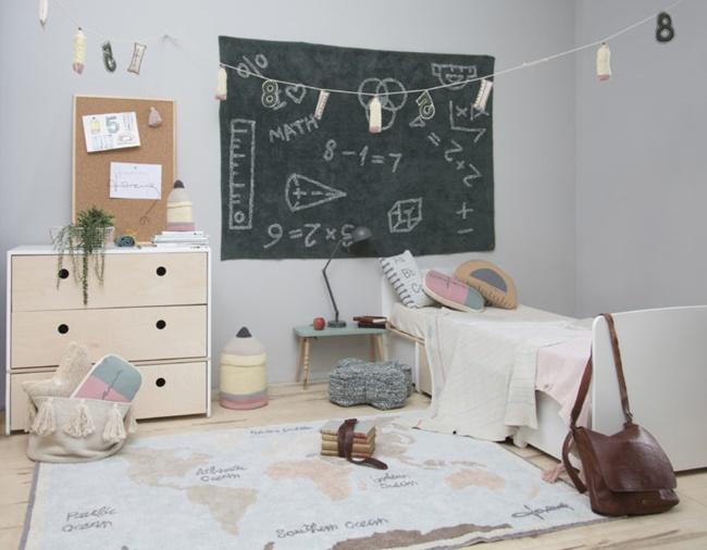 Back to School by Lorena Canals, textiles inspirados en el mundo escolar