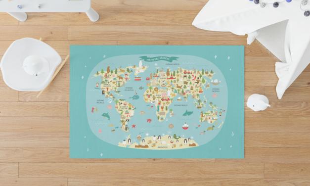 Descubre las alfombras vinílicas de Menudoscuadros.com