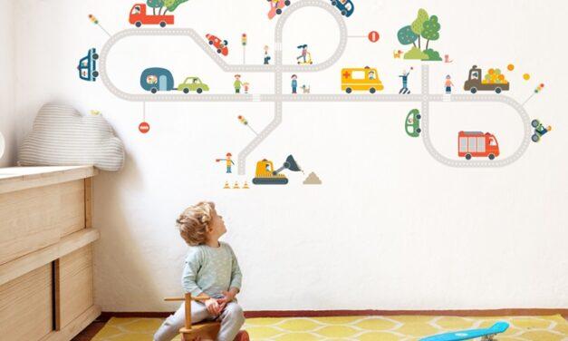 Vinilos infantiles decopeques for Decoracion paredes habitacion bebe nina