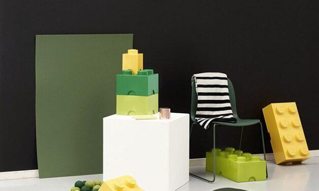 Almacenaje y decoración con cajas de LEGO