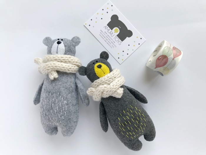 Amuru Toys: peluches ecológicos hecho en Varsovia