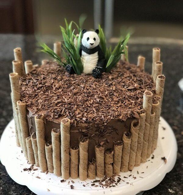 Tartas infantiles temáticas: osos panda
