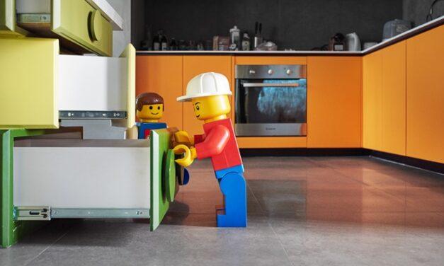 Una casa inspirada en el mundo Lego