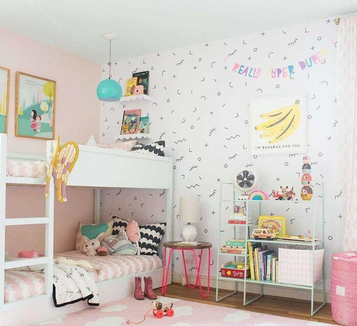 Las habitaciones compartidas más bonitas para las niñas