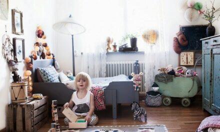 Un dormitorio infantil Bohochic