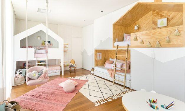 Un dormitorio infantil funcional y bonito