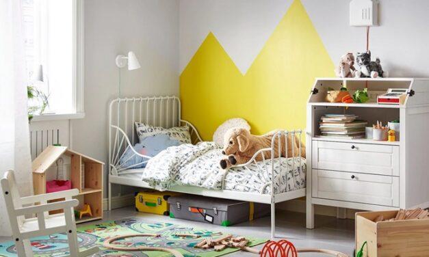 Inspírate con los dormitorios infantiles más bonitos de IKEA