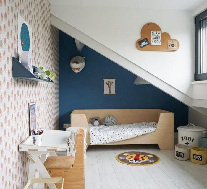 ¿Cómo influyen los colores de la habitación en tu hijo?