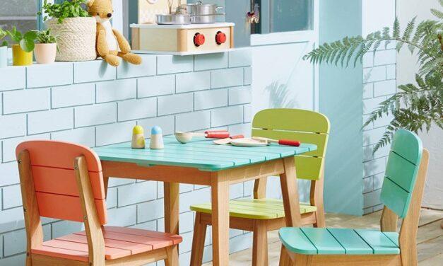 Las preciosas sillas de Vertbaudet