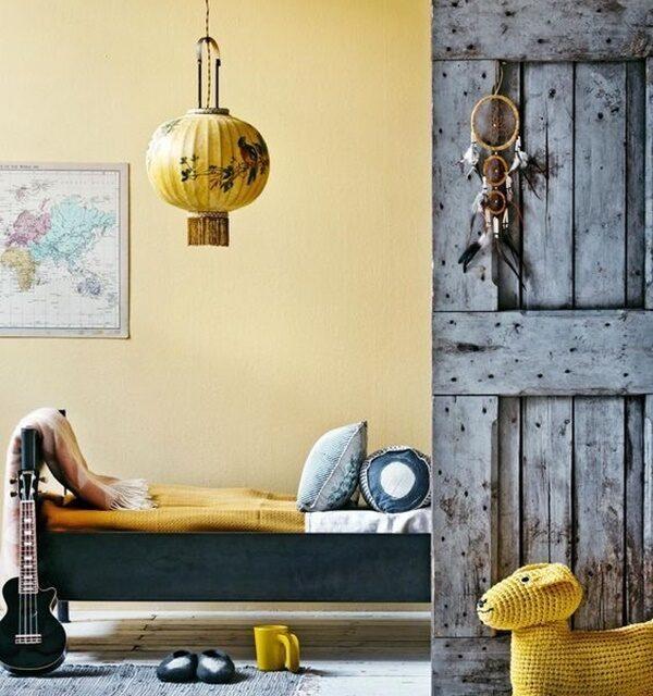 Amarillo en las habitaciones infantiles