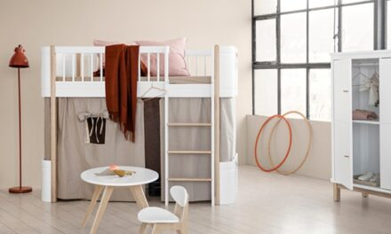 Muebles infantiles escandinavos de Oliver Furniture