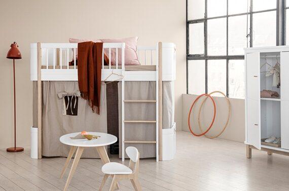 Muebles infantiles escandinavos de Oliver Furniture