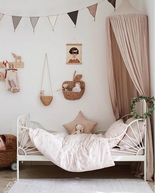 Inspiración en Instagram: dos habitaciones infantiles vintage