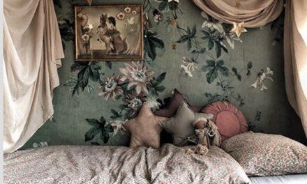 Dormitorios infantiles en Instagram: @gisellebergstrm