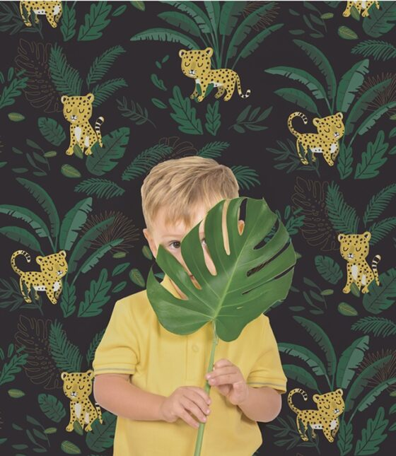 """La nueva colección de papeles pintados de Lilipinso """"Jungle Night"""""""