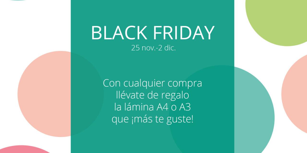 Black Friday en Menudos Cuadros