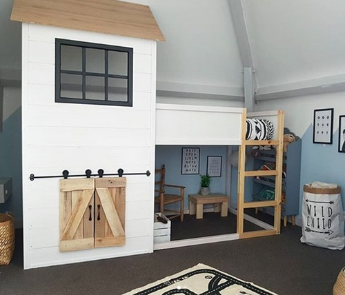 Personalizar la cama Kura de Ikea