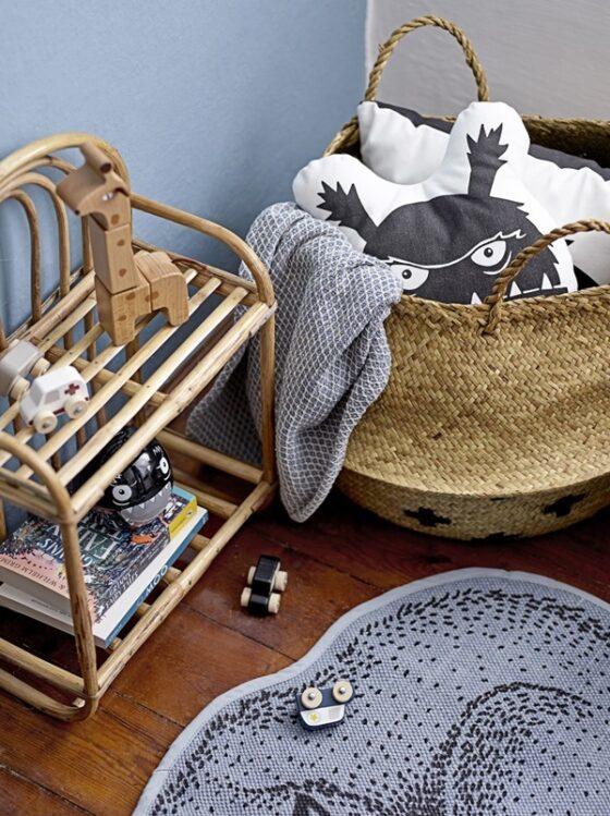 Muebles de caña para niños