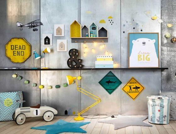 Decoración de paredes infantiles con Maisons du Monde