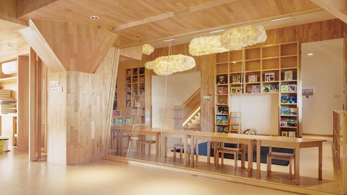 Una guardería Montessori