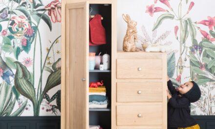 Almacenaje con cómodas y armarios infantiles