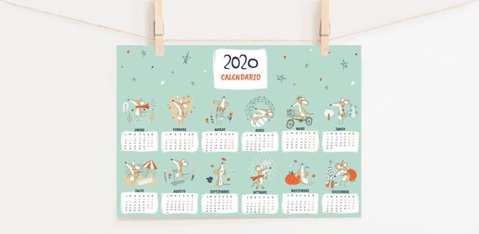 Calendario de regalo con tu compra en Menudos Cuadros