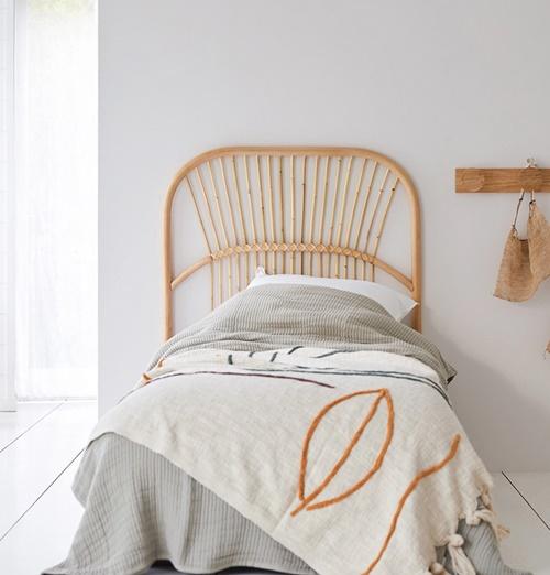 Ventajas de colocar una cama de ratán infantil