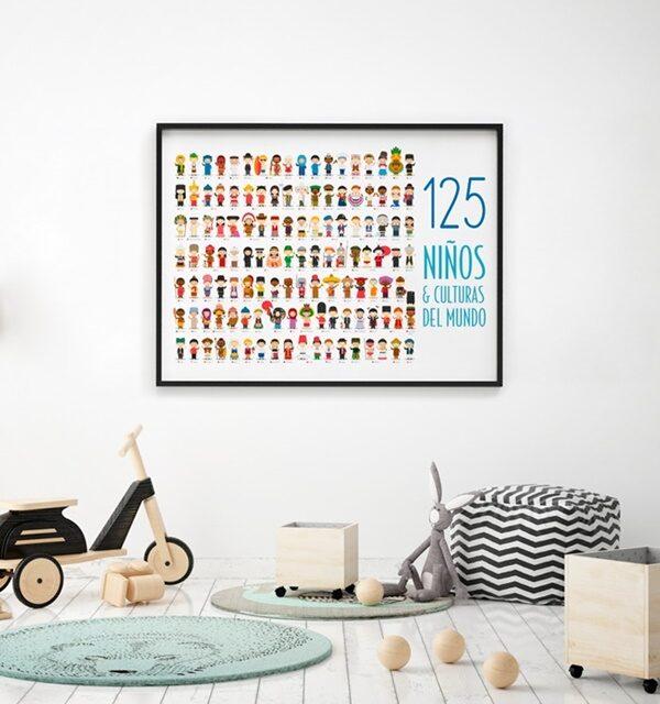 Menudos Cuadros en el catálogo navideño de Aprendiendo con Montessori