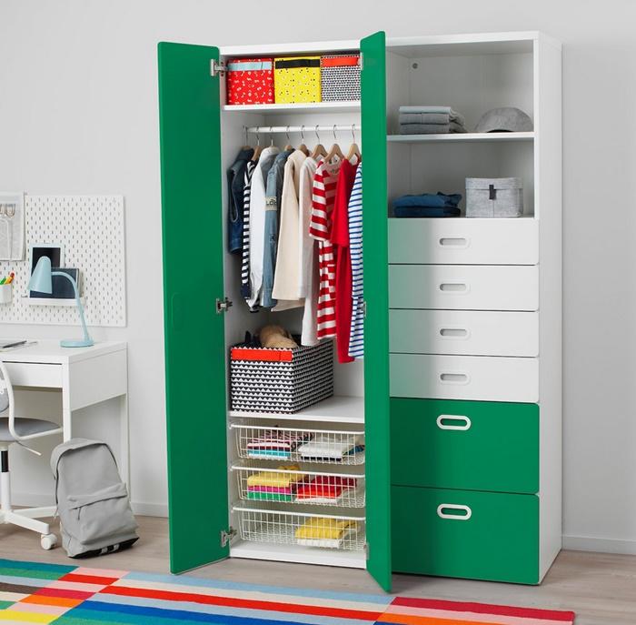 Armario verde Ikea