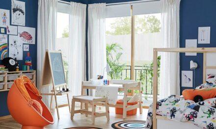 Espacio de trabajo infantil Ikea