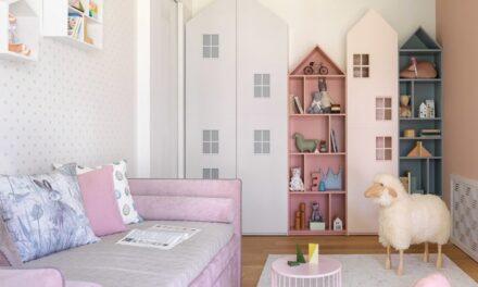 Habitación infantil con doble función: dormitorio y espacio de juegos
