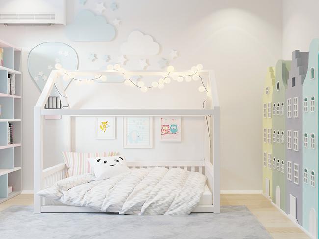 Una habitación infantil para soñar