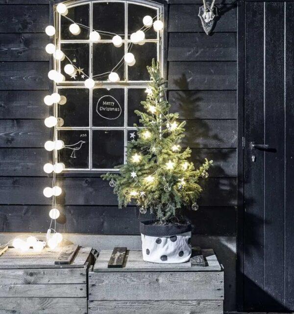 Decoración navideña en familia: decorando con Leds.
