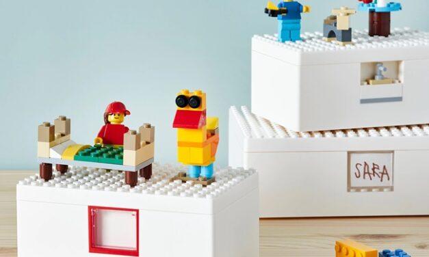 Colección BYGGLEK: la unión de IKEA y LEGO