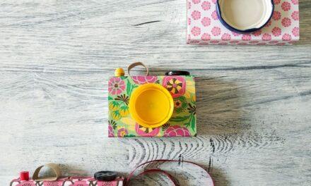 DIY infantil: una cámara de fotos