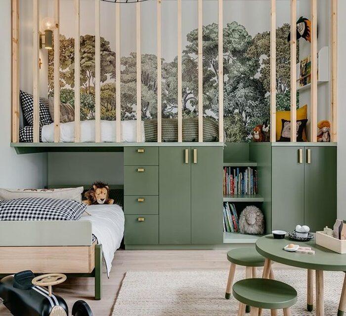 Inspiración en instagram: una habitación infantil en verde