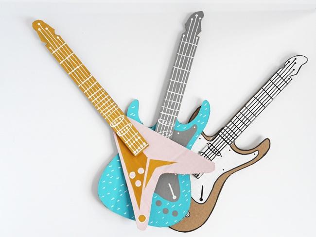 DIY infantil: una guitarra para tus hijos