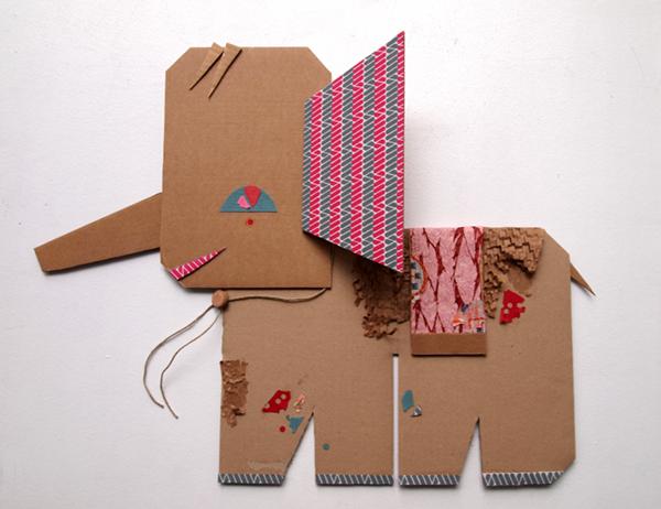 Amigos de papel: reciclar con niños