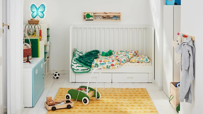 Inspiración Ikea: un bonito dormitorio infantil