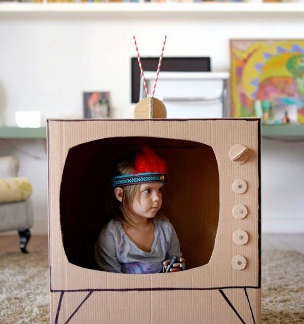 Las manualidades con cajas de cartón más divertidas