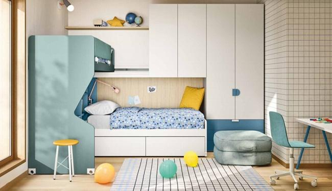 Las camas de Nidi que duplican el espacio
