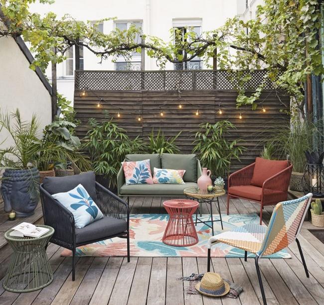 Disfruta de los exteriores con Maisons du Monde