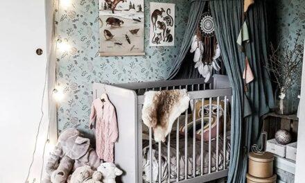 Claves de un dormitorio infantil romántico vintage