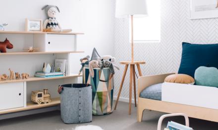 Ejemplo para convertir una habitación del bebé en una habitación infantil