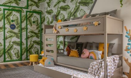Casa Natoca y sus espacios infantiles