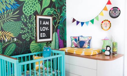 Saca partido de las habitaciones infantiles con textil y papel