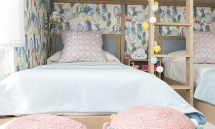 Aprovechar el espacio en un dormitorio para 3