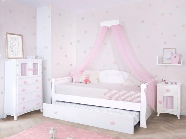 Muebles de dormitorio infantil para espacios reducidos